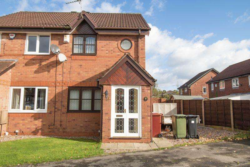 2 Bedrooms Semi Detached House for sale in Greenoak, Stoneclough, Radcliffe