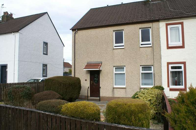 3 Bedrooms Semi Detached House for sale in 52 Milton Road, KILBIRNIE, KA25 7EP