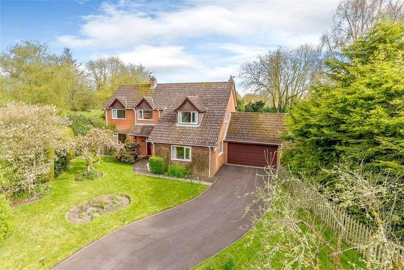 5 Bedrooms Detached House for sale in The Cartway, Wedhampton, Devizes, Wiltshire, SN10