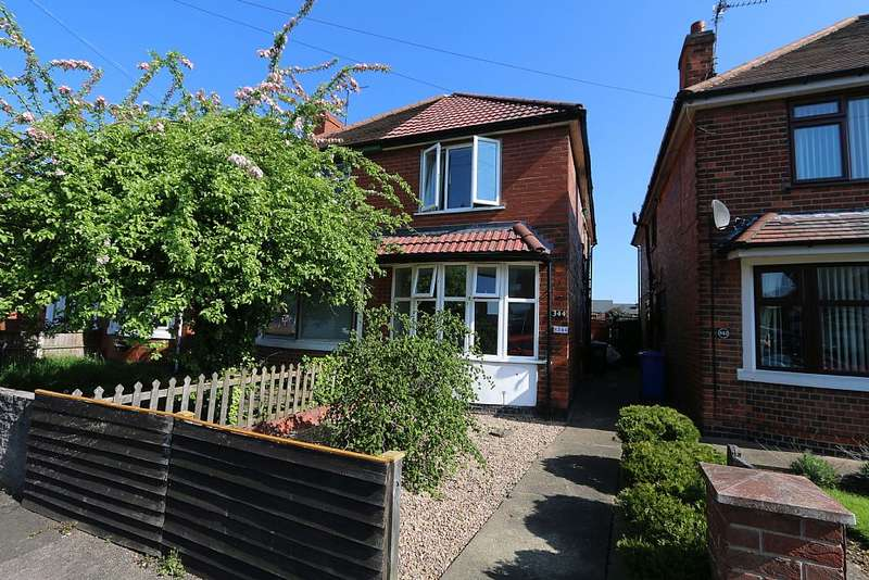 2 Bedrooms Semi Detached House for sale in 344, Baker Street, Alvaston, Derby, Derbyshire, DE24 8SH