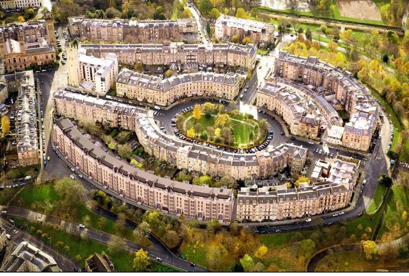 4 Bedrooms Flat for sale in Park Quadrant, Glasgow, G3
