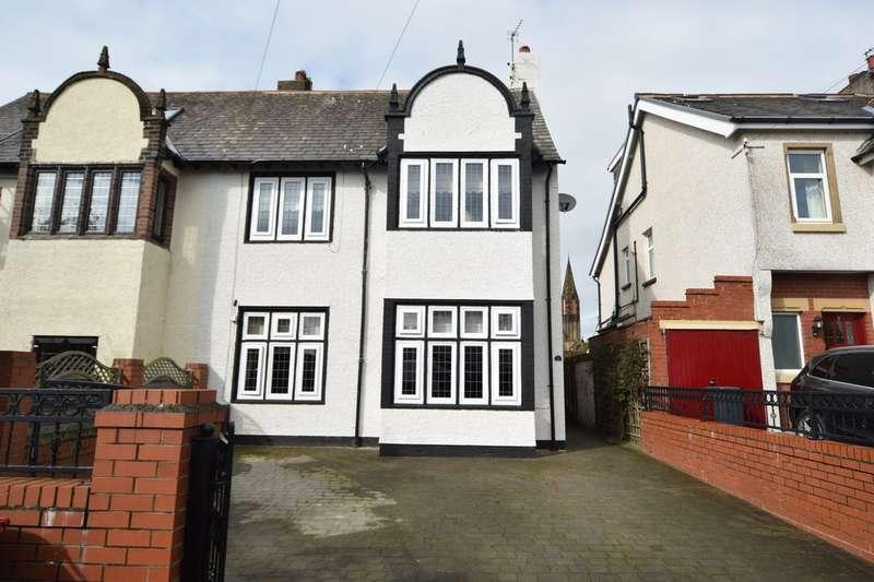 4 Bedrooms Semi Detached House for sale in Carlton Avenue, Barrow-in-Furness, Cumbria, LA13 9AT