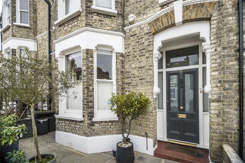 4 Bedrooms Semi Detached House for sale in Bennerley Road, London, SW11