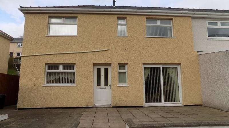 3 Bedrooms Semi Detached House for sale in Morley Road, Abertillery. NP13 1TP