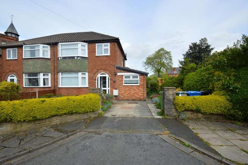 3 Bedrooms Semi Detached House for sale in Moorland Avenue, Sale