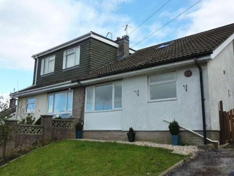 2 Bedrooms Semi Detached Bungalow for rent in Westwood Drive, Quakers Yard,