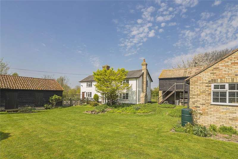 4 Bedrooms Detached House for sale in Church Street, Thriplow, Royston, Hertfordshire, SG8