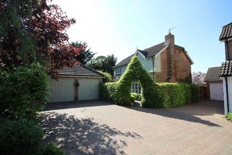 4 Bedrooms Detached House for sale in Sybils Way, Houghton Conquest, Bedford, MK45