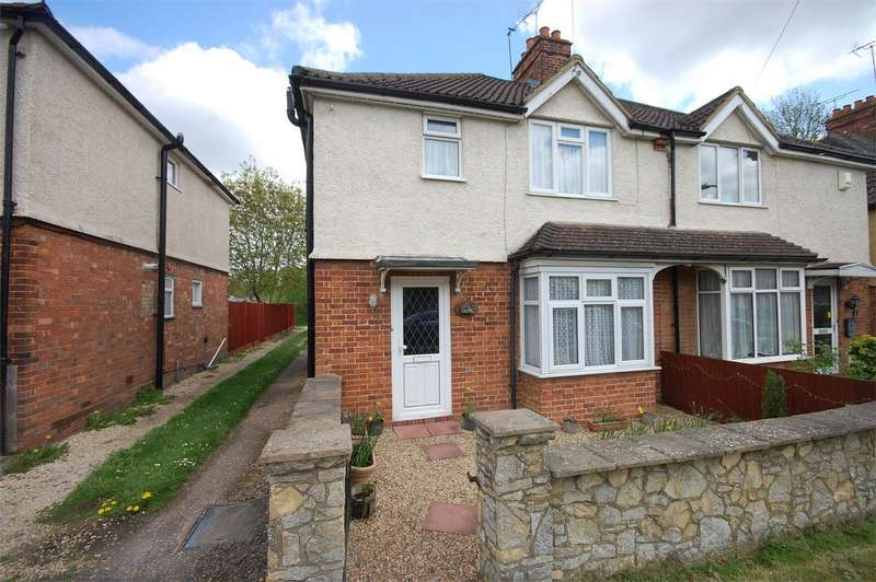 3 Bedrooms Semi Detached House for sale in Old Stoke Road, Aylesbury, Buckinghamshire