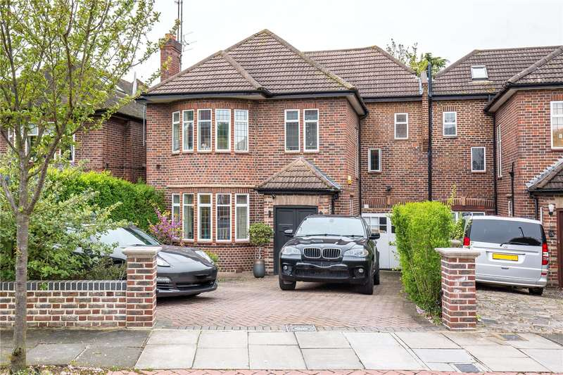 6 Bedrooms Semi Detached House for sale in Claremont Park, Finchley, London, N3