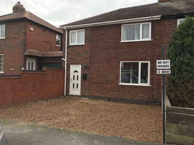 4 Bedrooms Semi Detached House for sale in Derbyshire Drive, Ilkeston