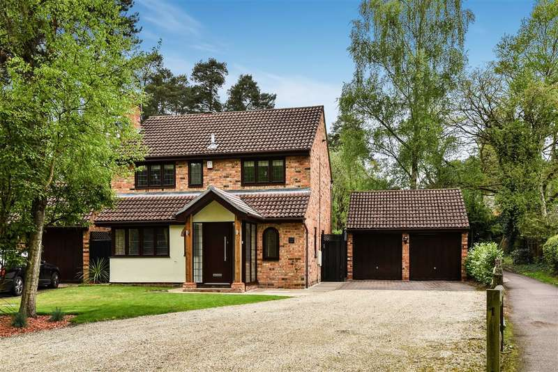 4 Bedrooms Detached House for sale in Edgewood Close, Pine Ridge, Crowthorne
