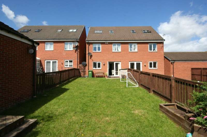 4 Bedrooms Semi Detached House for sale in Overton Way, Stockton-On-Tees, TS18
