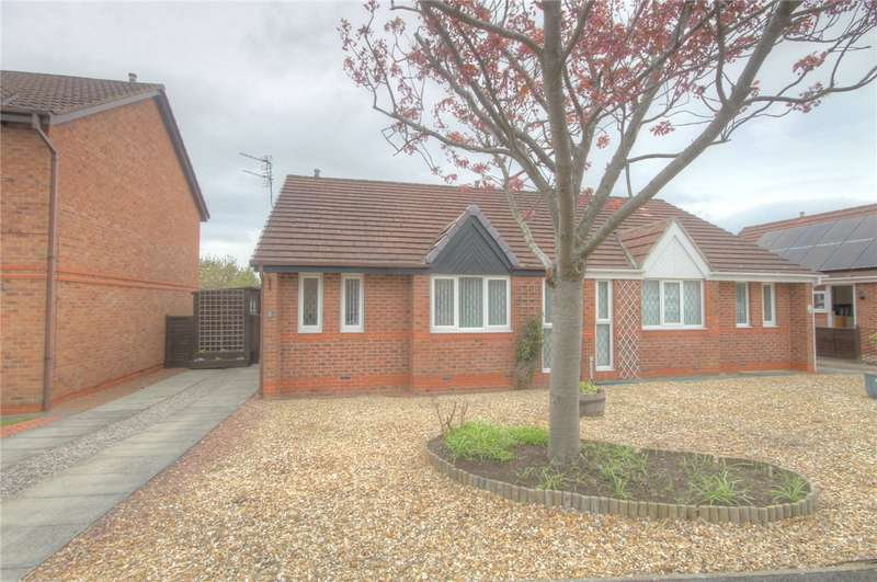2 Bedrooms Semi Detached Bungalow for sale in Belford Way, Newton Aycliffe, County Durham, DL5