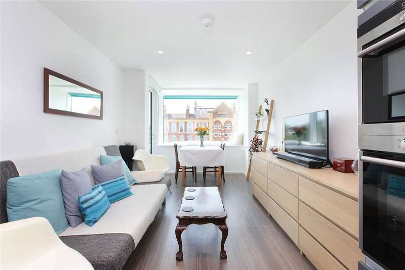 1 Bedroom Flat for sale in Beacon Tower, The Filaments, Wandsworth, London, SW18