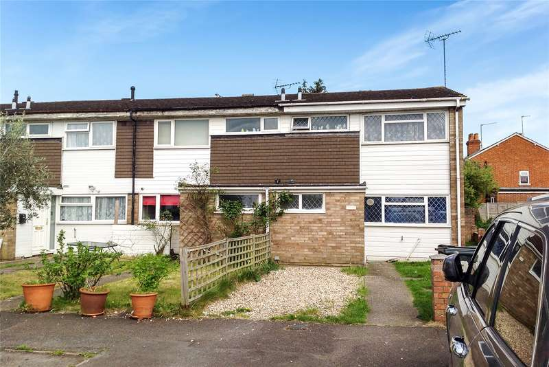 3 Bedrooms End Of Terrace House for sale in Fulmead Road, Reading, Berkshire, RG30