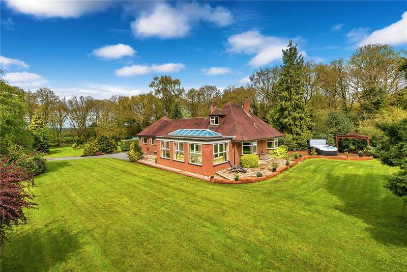 3 Bedrooms Detached House for sale in The Woodlands, Hatton Road, Hinstock, Market Drayton, Shropshire, TF9