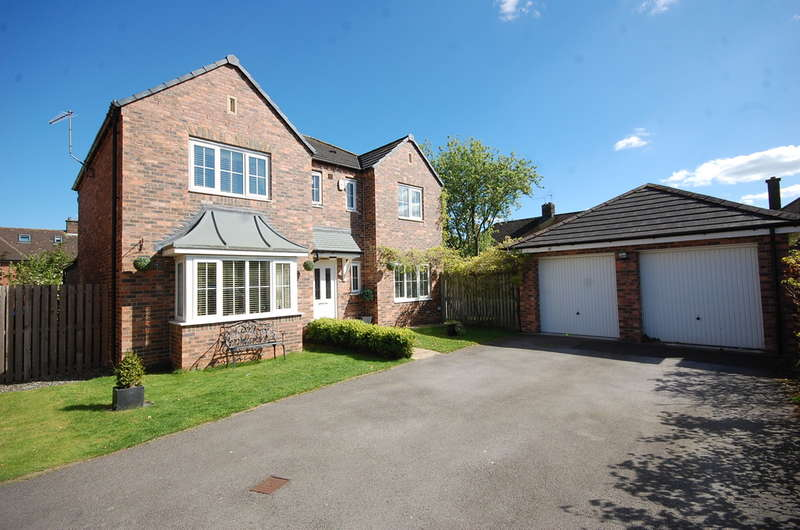 4 Bedrooms Detached House for sale in Ascot Close, Northallerton