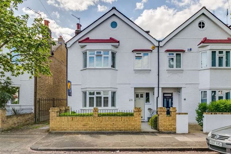 4 Bedrooms End Of Terrace House for sale in Wallorton Gardens, East Sheen, SW14