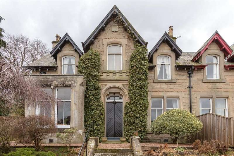 4 Bedrooms Semi Detached House for sale in Bridgelands, Caledonian Road, Peebles, Scottish Borders