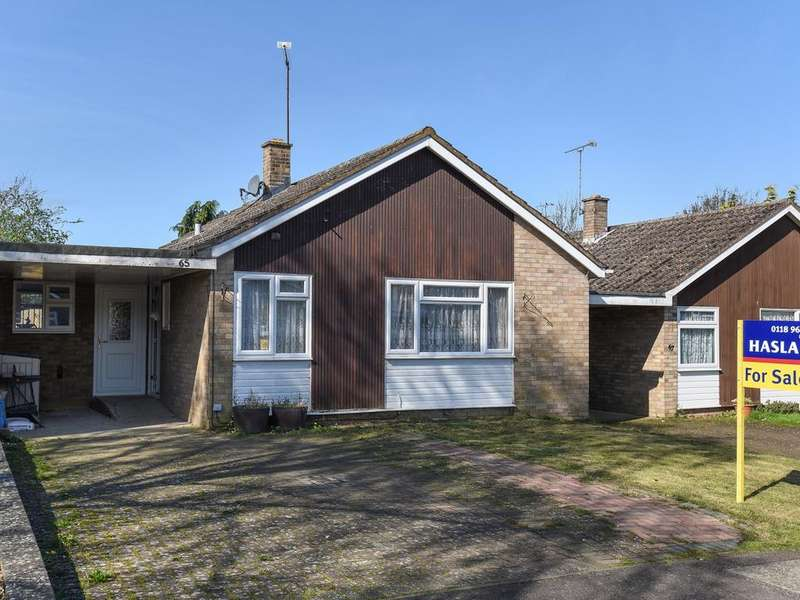 2 Bedrooms Bungalow for sale in Melrose Gardens, Arborfield Cross, Reading, RG2