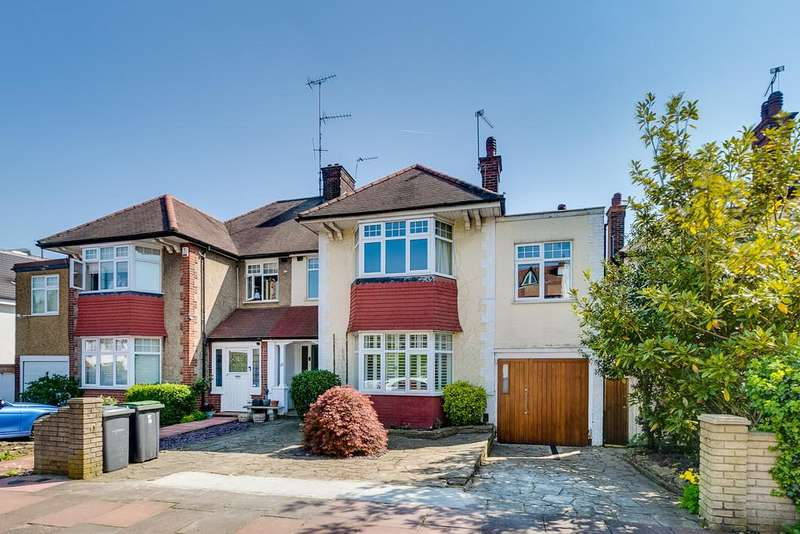 5 Bedrooms Semi Detached House for sale in Creighton Avenue, N10 1NU