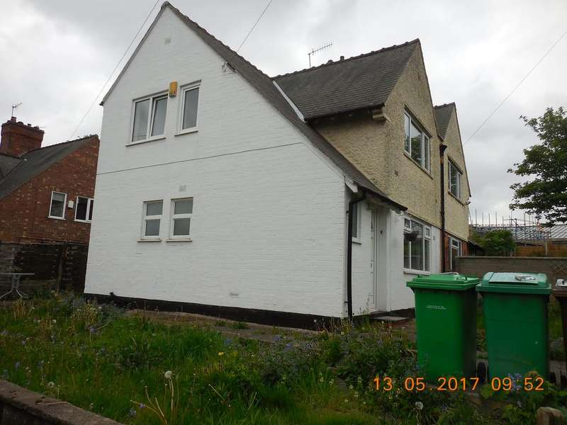 3 Bedrooms Semi Detached House for rent in Rushcliffe Rise, Nottigham NG5