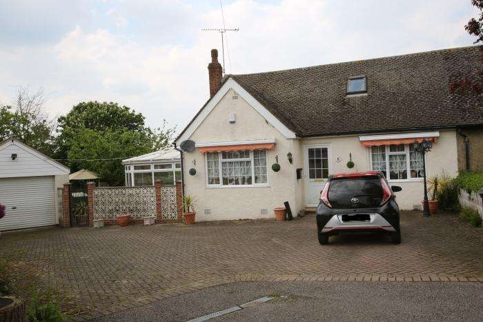 3 Bedrooms Semi Detached Bungalow for sale in WILLOW PLACE, HASTINGWOOD CM17