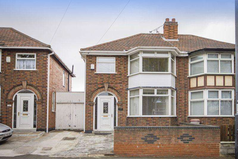 3 Bedrooms Semi Detached House for sale in PORTLAND STREET, DERBY