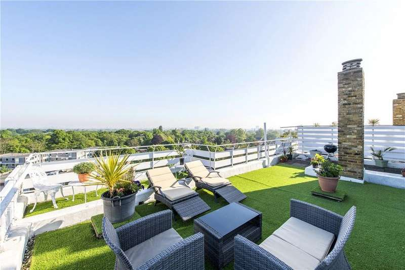 3 Bedrooms Apartment Flat for sale in March Court, Warwick Drive, London, SW15
