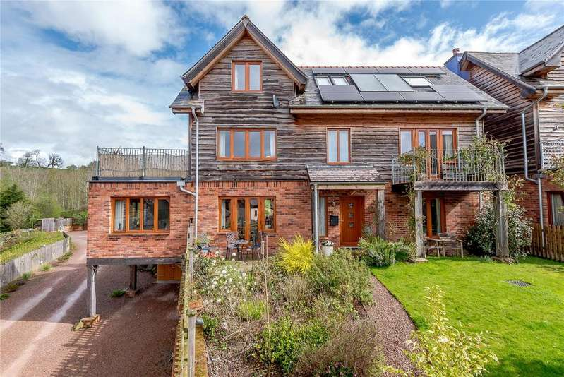 4 Bedrooms Detached House for sale in The Wintles, Bishops Castle, Shropshire
