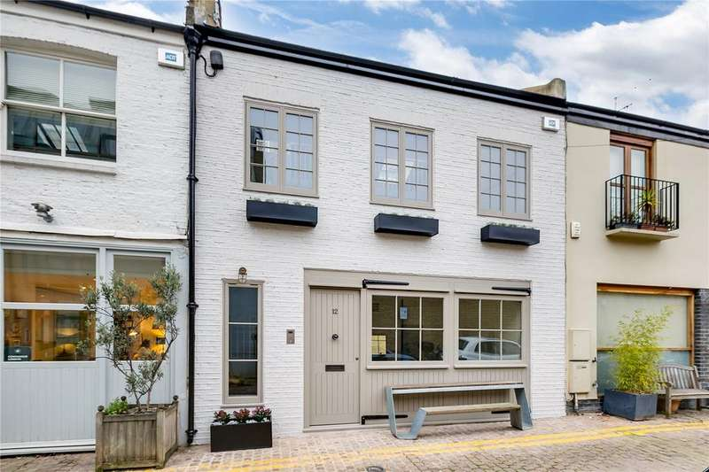 3 Bedrooms Mews House for sale in Colville Mews, London, W11