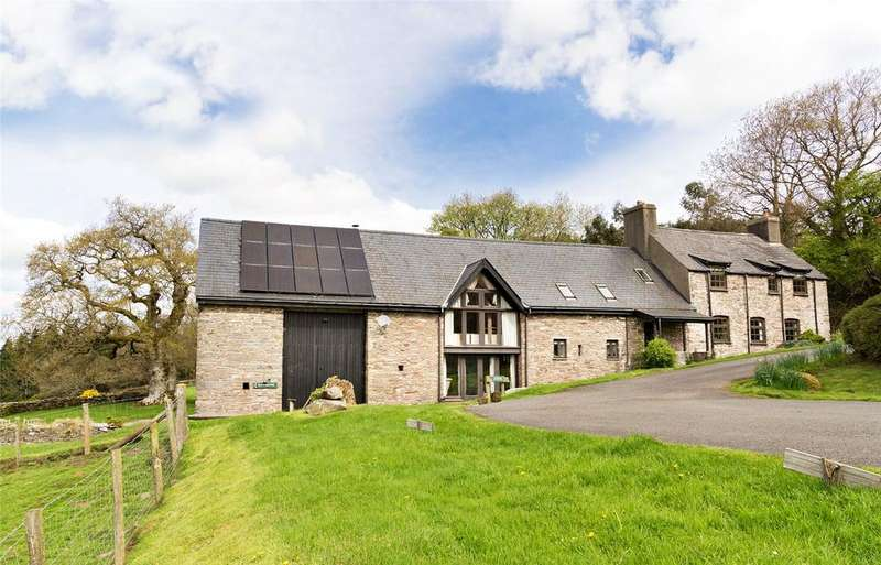 6 Bedrooms Detached House for sale in Cantref, Brecon, Powys