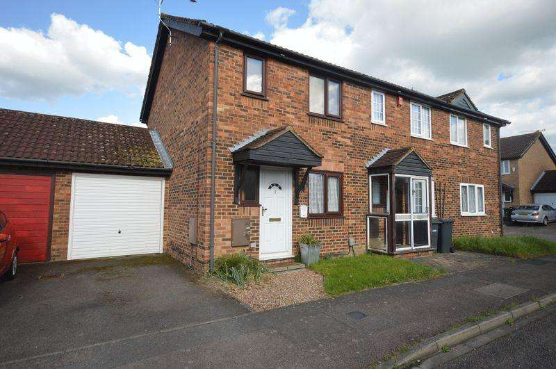 2 Bedrooms End Of Terrace House for sale in Rudyard Close, Luton