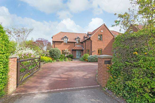 4 Bedrooms Detached House for sale in The Green, Hickling, Leicestershire LE14 3AE