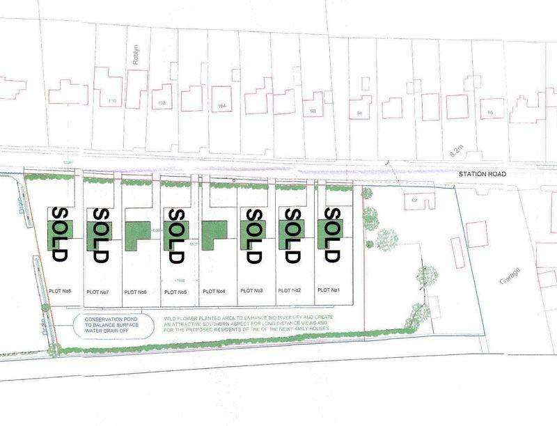 Land Commercial for sale in Plot 6 Station Road, Burgh Le Marsh
