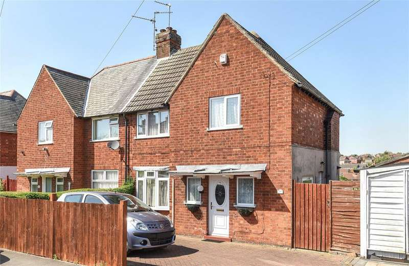3 Bedrooms Semi Detached House for sale in Shanklin Drive, Grantham, NG31