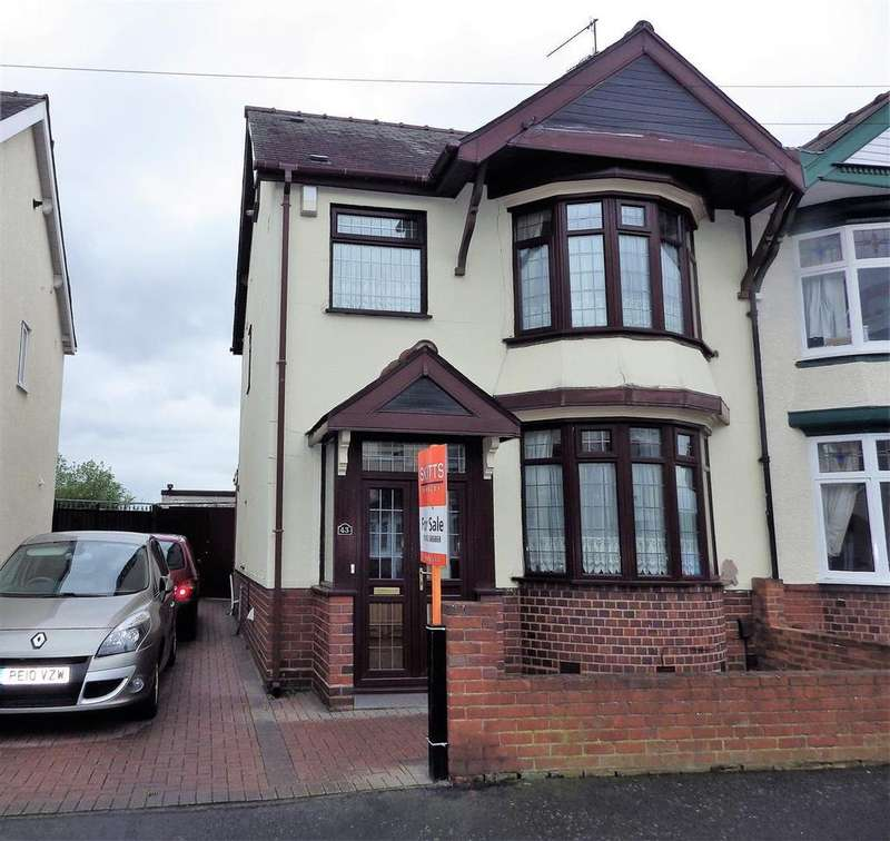 3 Bedrooms Semi Detached House for sale in Highland Road, Cradley Heath