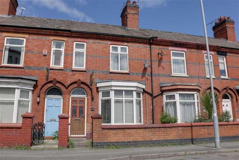 3 Bedrooms Terraced House for sale in Earle Street, Crewe