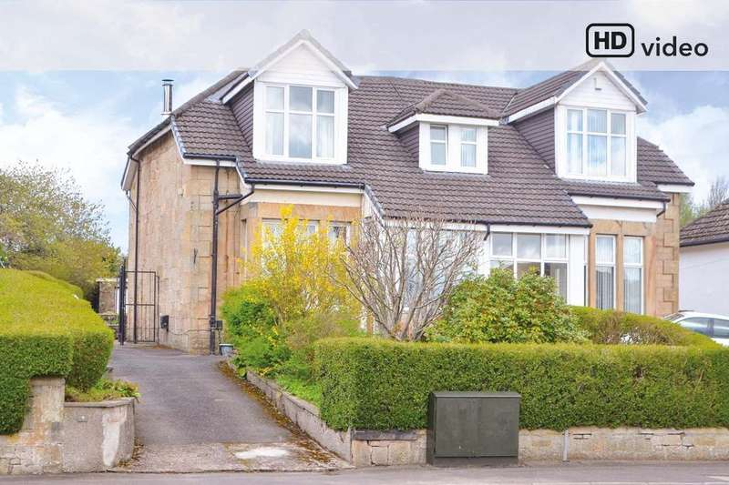 3 Bedrooms Semi Detached House for sale in Wester Road, Mount Vernon, Glasgow, G32 9JH