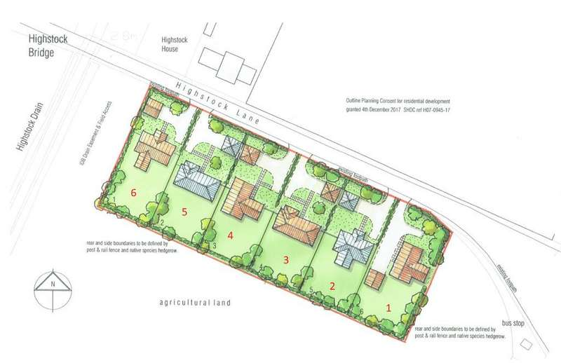 Land Commercial for sale in Plot 1, South of Highstock Lane