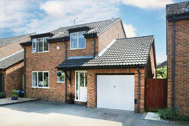 4 Bedrooms Detached House for sale in Elvedon Close, Lower Earley, Reading