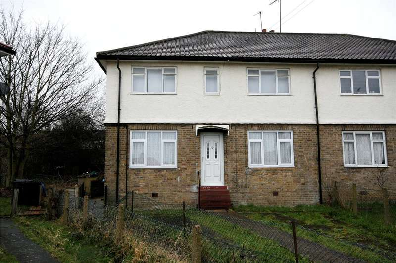 2 Bedrooms Maisonette Flat for sale in Homefield Close London