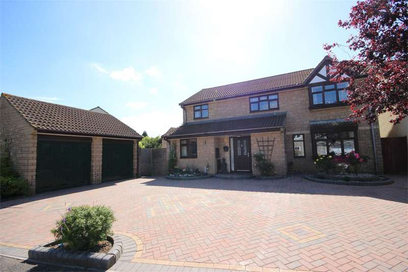 4 Bedrooms Detached House for sale in Cooks Close Bradley Stoke Bristol BS32