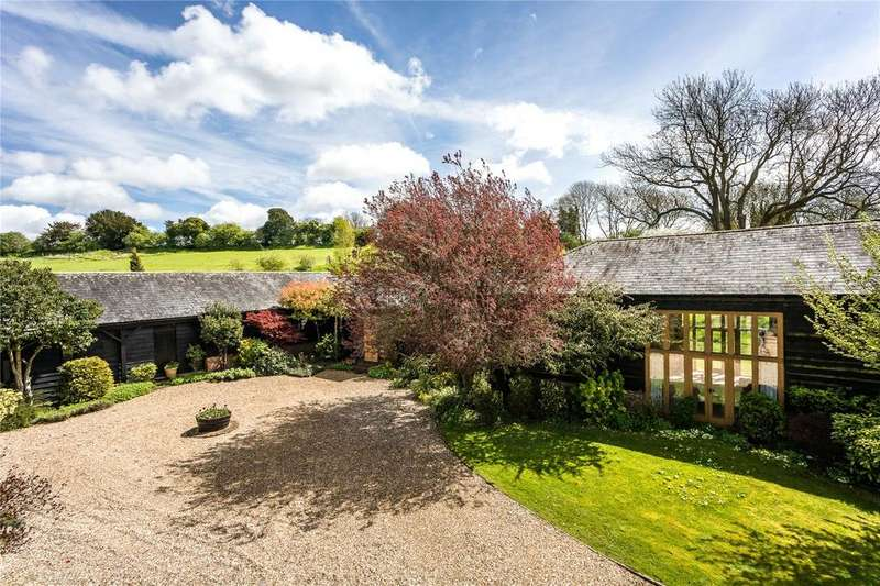 5 Bedrooms Detached House for sale in Heathman Street, Nether Wallop, Stockbridge, Hampshire, SO20