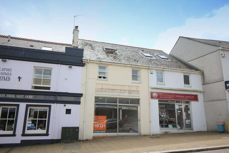 2 Bedrooms Apartment Flat for sale in First Floor Flat, 89 Fore Street