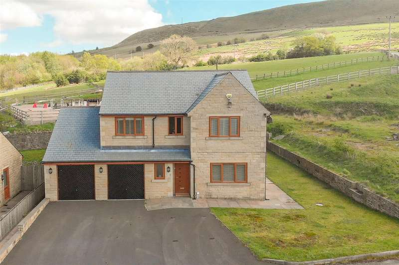 4 Bedrooms Detached House for sale in Carr Farm Close, Rawtenstall, Rossendale