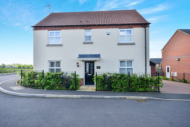 4 Bedrooms Detached House for sale in Priory Way, Newton, Alfreton, DE55
