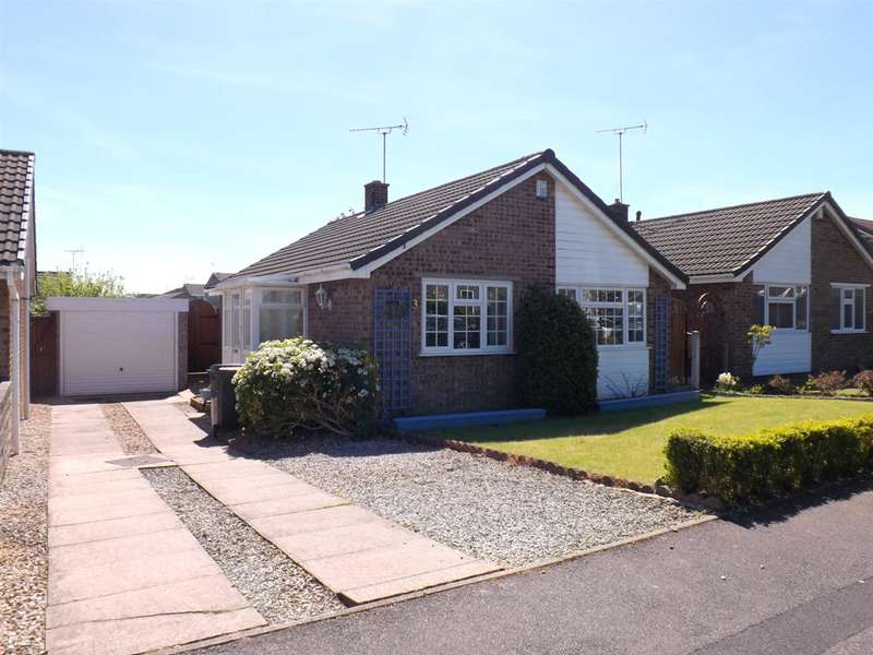 2 Bedrooms Bungalow for sale in St Johns Crescent, Clowne, Chesterfield
