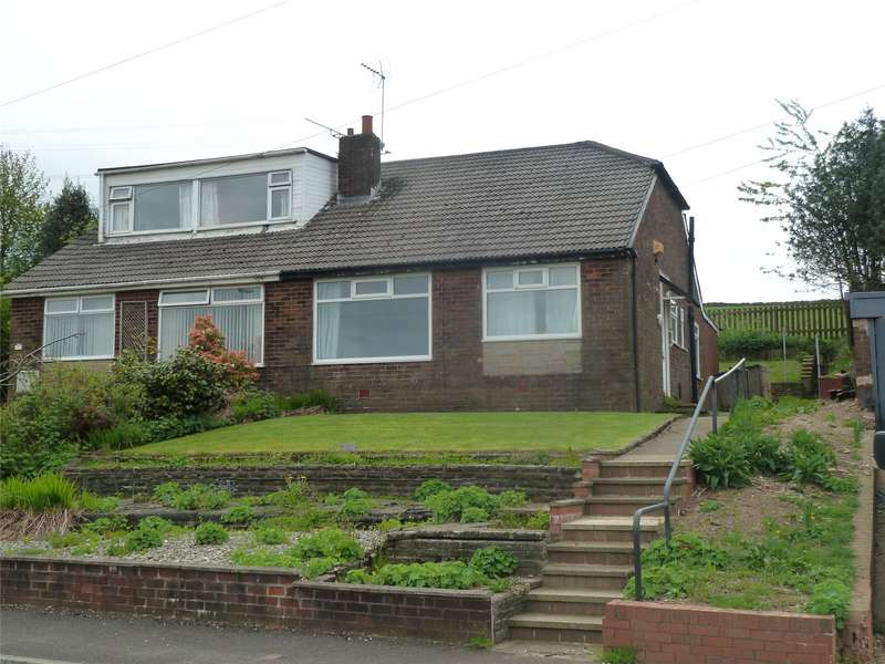 2 Bedrooms Semi Detached Bungalow for sale in Brookside Avenue, Grotton, Saddleworth, OL4